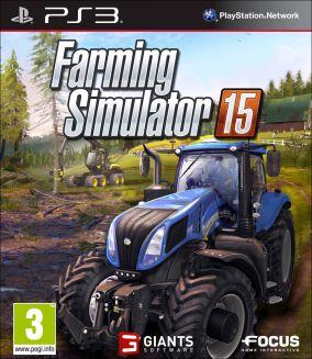 Copertina del gioco Farming Simulator 15 per Playstation 3