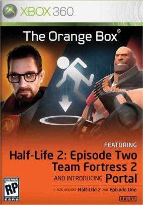 Copertina del gioco Half Life 2: The Orange Box per Xbox 360