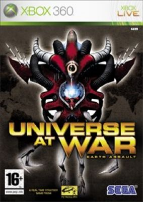 Copertina del gioco Universe at War: Earth Assault per Xbox 360