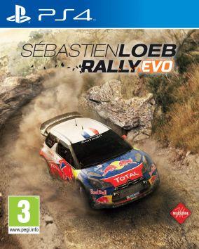 Copertina del gioco Sébastien Loeb Rally Evo per Playstation 4
