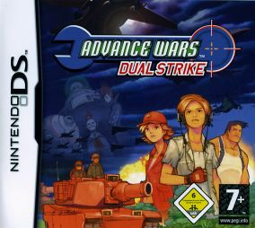 Copertina del gioco Advance Wars: Dual Strike per Nintendo DS