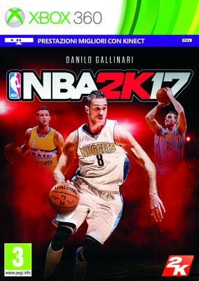 Copertina del gioco NBA 2K17 per Xbox 360