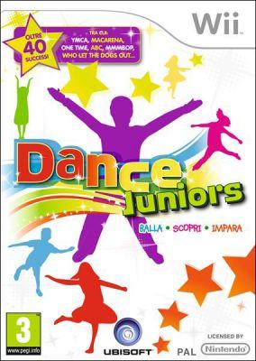 Copertina del gioco Dance Juniors per Nintendo Wii
