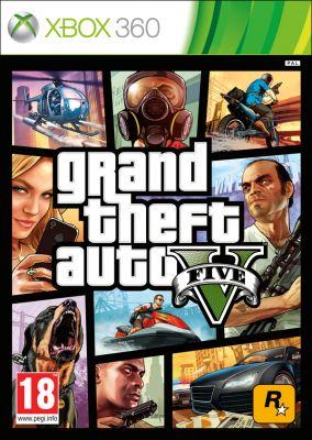 Immagine della copertina del gioco Grand Theft Auto V - GTA 5 per Xbox 360