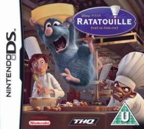 Copertina del gioco Ratatouille per Nintendo DS