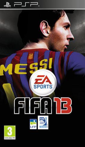 Copertina del gioco FIFA 13 per Playstation PSP