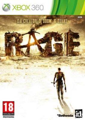 Copertina del gioco Rage per Xbox 360