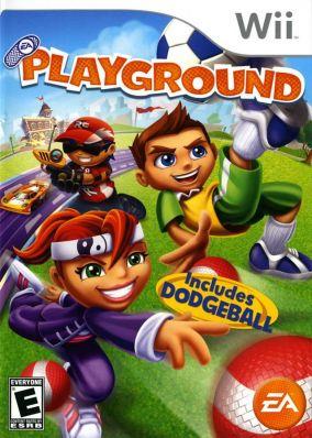 Copertina del gioco EA Playground per Nintendo Wii