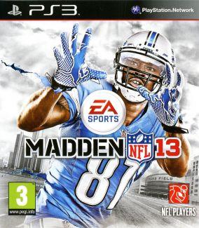 Copertina del gioco Madden NFL 13 per Playstation 3
