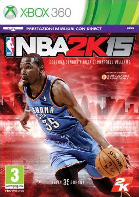 Copertina del gioco NBA 2K15 per Xbox 360