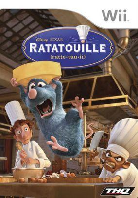 Copertina del gioco Ratatouille per Nintendo Wii