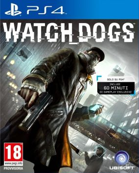 Copertina del gioco Watch Dogs per Playstation 4