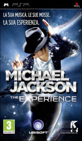 Copertina del gioco Michael Jackson: The Experience per Playstation PSP