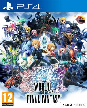 Copertina del gioco World of Final Fantasy per Playstation 4