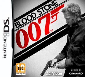 Copertina del gioco James Bond Bloodstone per Nintendo DS