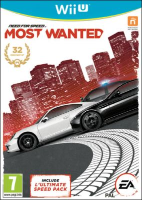 Copertina del gioco Need for Speed: Most Wanted per Nintendo Wii U