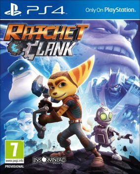 Copertina del gioco Ratchet & Clank per Playstation 4