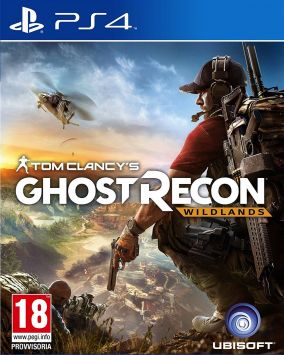 Copertina del gioco Tom Clancy's Ghost Recon Wildlands per Playstation 4