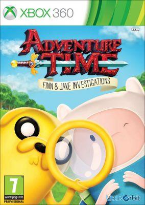 Copertina del gioco Adventure Time: Finn e Jake detective per Xbox 360