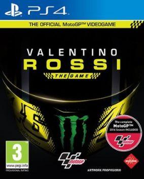 Copertina del gioco Valentino Rossi The Game per Playstation 4