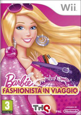Copertina del gioco Barbie Fashionista in Viaggio per Nintendo Wii
