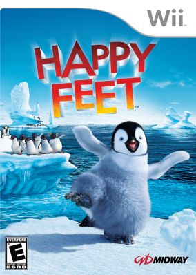 Copertina del gioco Happy Feet per Nintendo Wii
