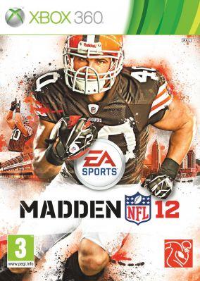 Copertina del gioco Madden NFL 12 per Xbox 360