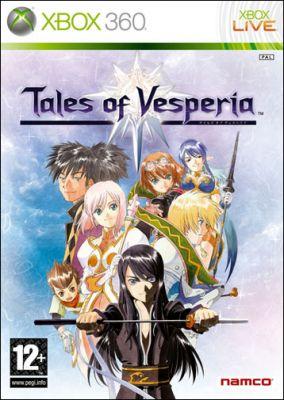 Copertina del gioco Tales of Vesperia per Xbox 360