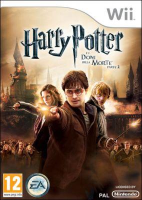 Copertina del gioco Harry Potter e i Doni della Morte: Parte 2 Il Videogame per Nintendo Wii