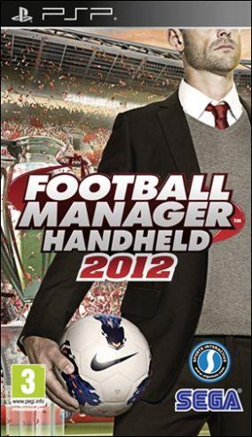 Copertina del gioco Football Manager Handheld 2012 per Playstation PSP