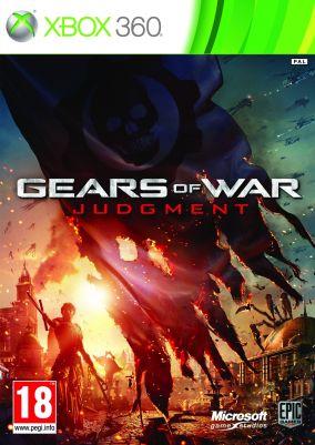 Copertina del gioco Gears of War Judgment per Xbox 360