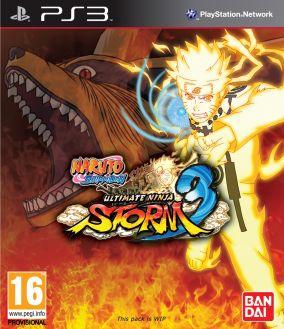 Immagine della copertina del gioco Naruto Shippuden: Ultimate Ninja Storm 3 per Playstation 3