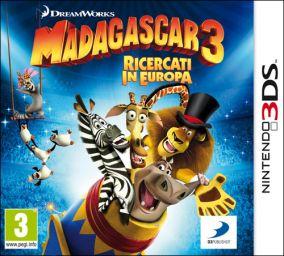 Copertina del gioco Madagascar 3: The Video Game per Nintendo 3DS