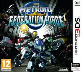Copertina del gioco Metroid Prime: Federation Force per Nintendo 3DS