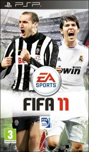 Copertina del gioco FIFA 11 per Playstation PSP