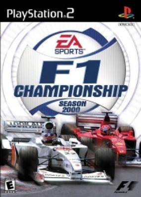 Copertina del gioco F1 Championship Season 2000 per Playstation 2