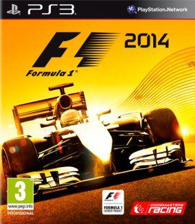 Copertina del gioco F1 2014 per Playstation 3
