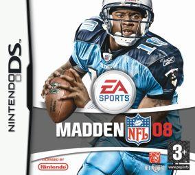 Copertina del gioco Madden NFL 08 per Nintendo DS