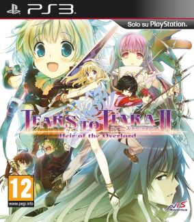 Copertina del gioco Tears to Tiara II: Heir of the Overlord per Playstation 3
