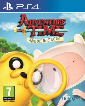 Copertina del gioco Adventure Time: Finn e Jake detective per Playstation 4