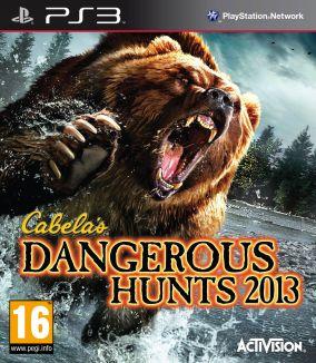 Copertina del gioco Cabela's Dangerous Hunts 2013 per Playstation 3