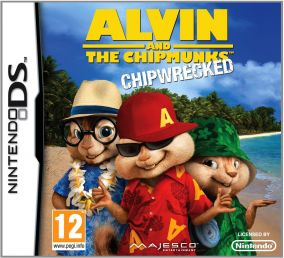 Copertina del gioco Alvin & The Chipmunks per Nintendo DS