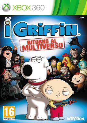 Copertina del gioco I Griffin Ritorno al Multiverso per Xbox 360