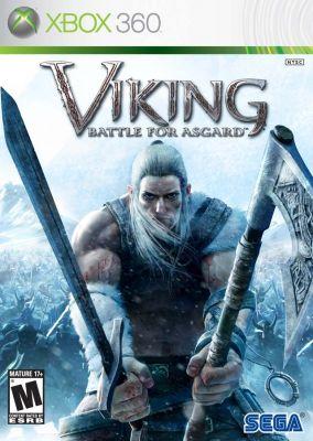 Copertina del gioco Viking: Battle for Asgard per Xbox 360
