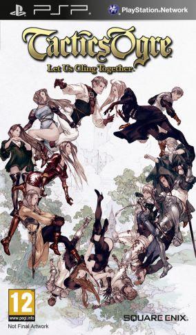 Copertina del gioco Tactics Ogre: Let Us Cling Together per Playstation PSP