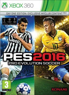 Copertina del gioco Pro Evolution Soccer 2016 per Xbox 360