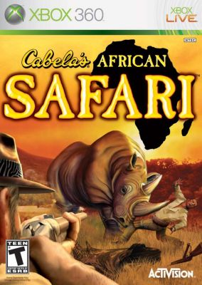 Copertina del gioco Cabela's African Safari per Xbox 360