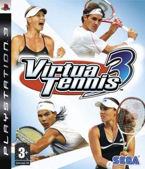 Copertina del gioco Virtua Tennis 3 per Playstation 3