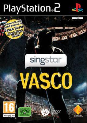 Copertina del gioco SingStar Vasco per Playstation 2