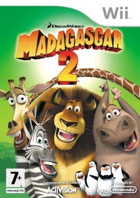 Copertina del gioco Madagascar: Escape 2 Africa per Nintendo Wii